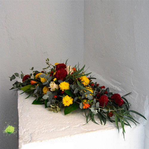 Composición Floral para tumba horizontal - Día de Todos los Santos
