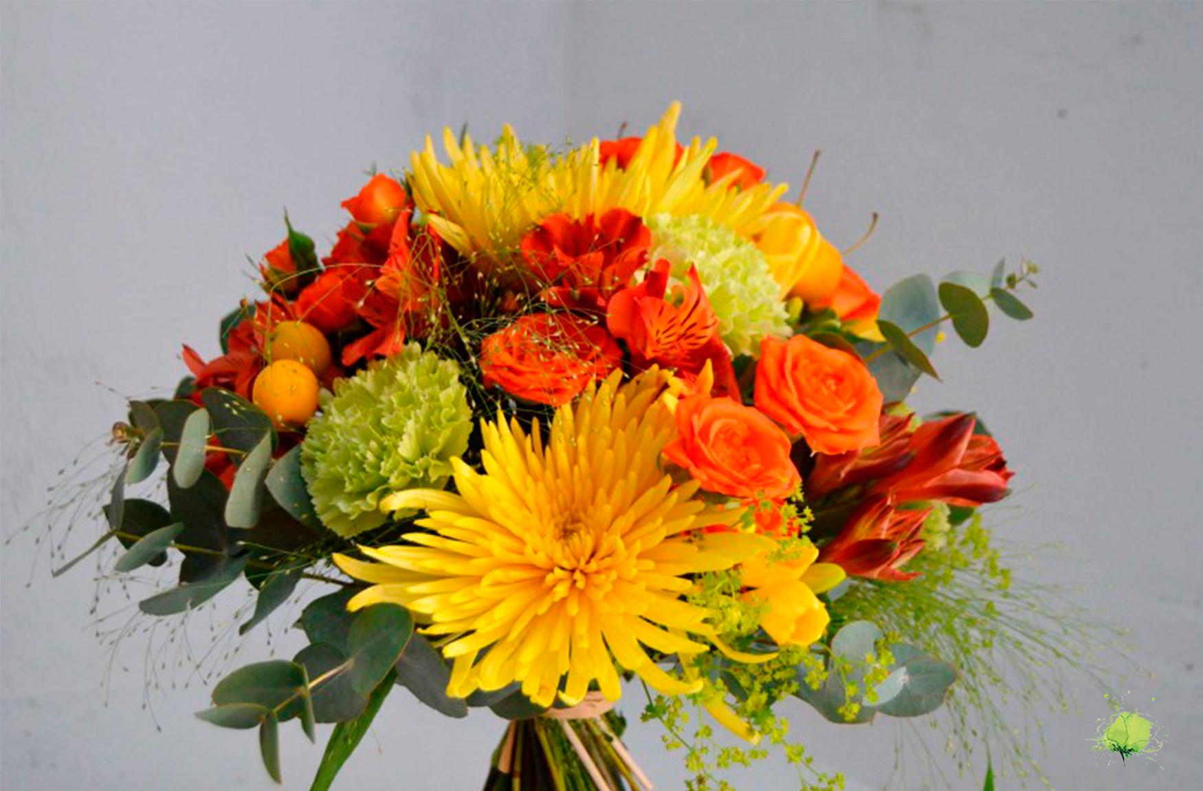 Ramo Flores Agradecimientos - Blumenaria Taller Floral