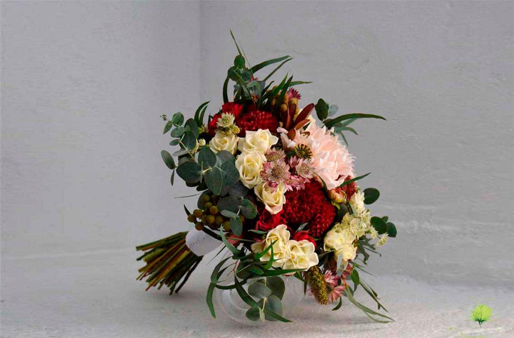 Boda Ramo Novia Natural - Blumenaria - Taller Floral