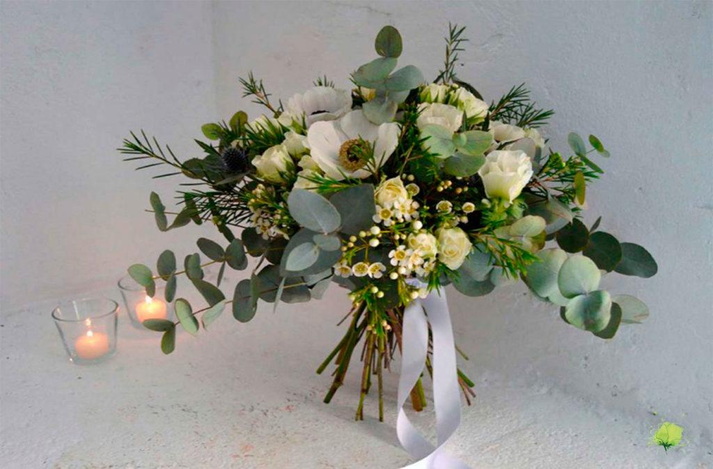 Boda Ramo Novia Natural - Blumenaria Taller Floral