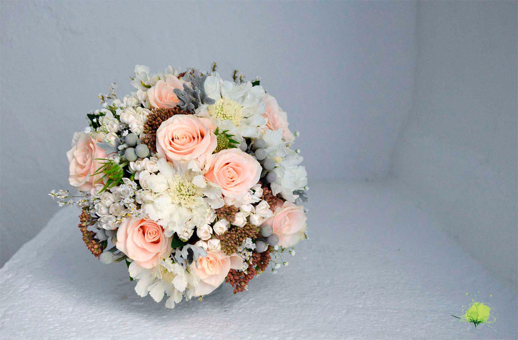 Ramo Novia Romántico - Bodas Blumenaria Taller Floral