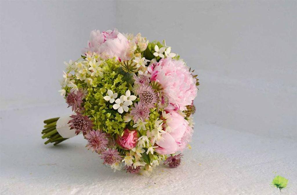 Boda Ramo Novia Romántico - Blumenaria Taller Floral