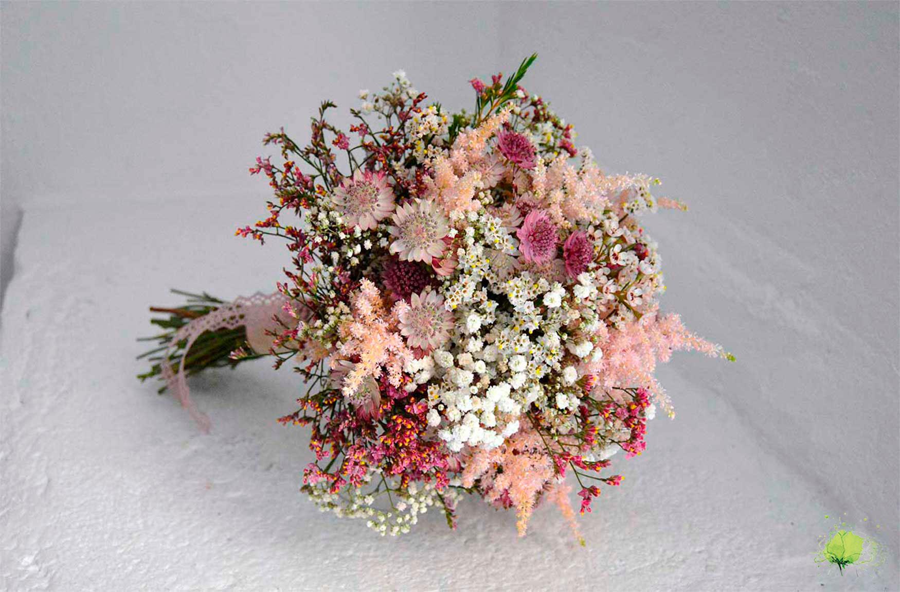 Ramo Novia Silvestre - Bodas Blumenaria Taller Floral