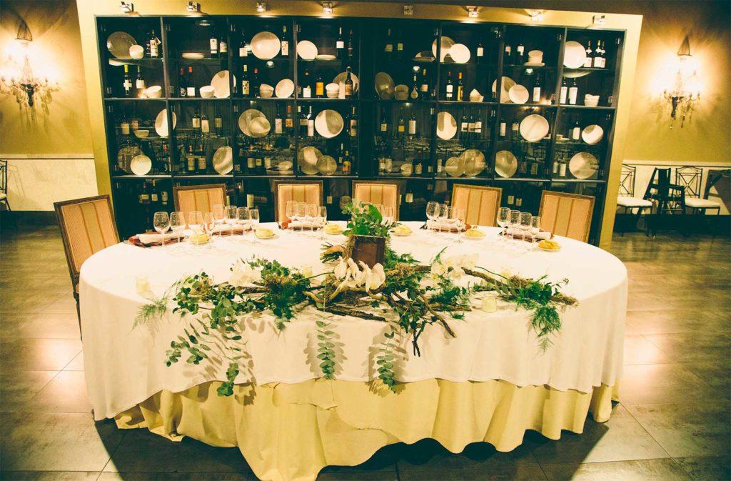 Decoración Banquete - Taller Floral Blumenaria