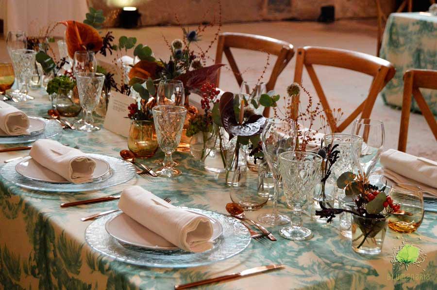 Centros de Flores para Celebración Nupcial