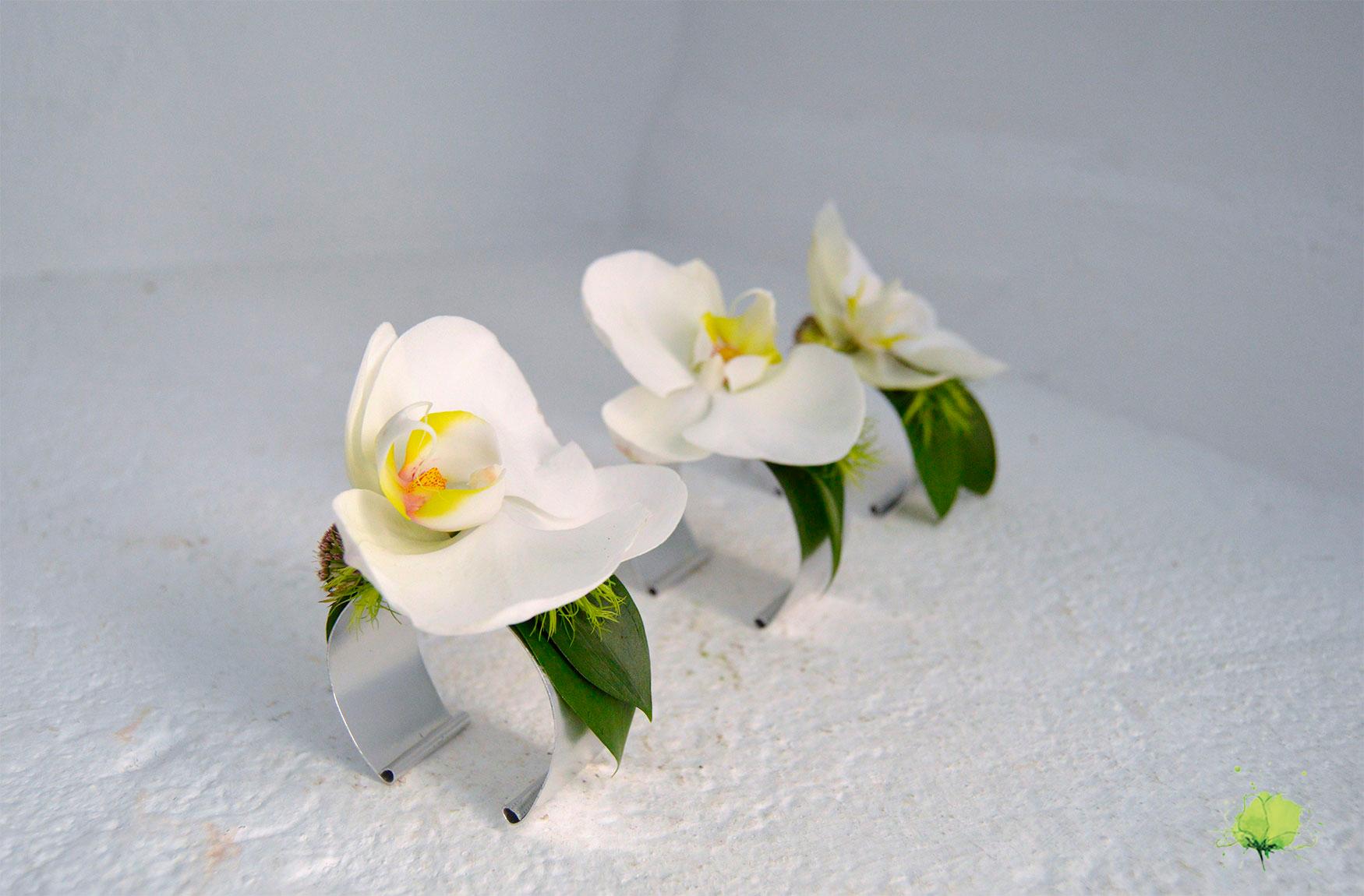 Complementos Florales Brazalete - Blumenaria Taller Floral