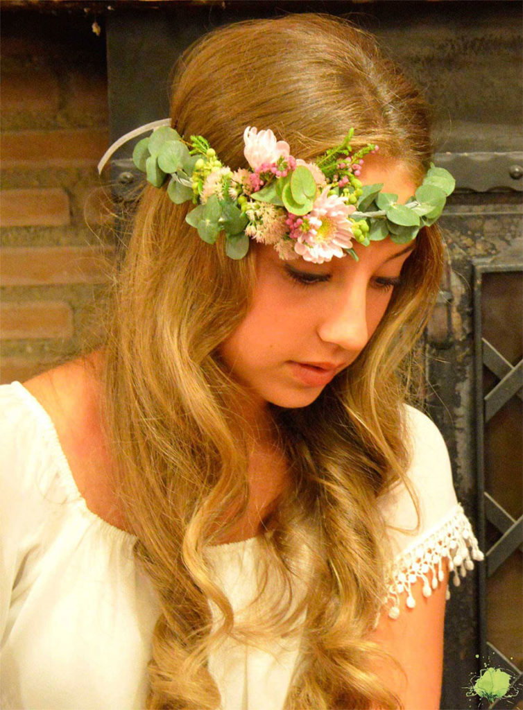 Complementos Florales Corona - Blumenaria Taller Floral