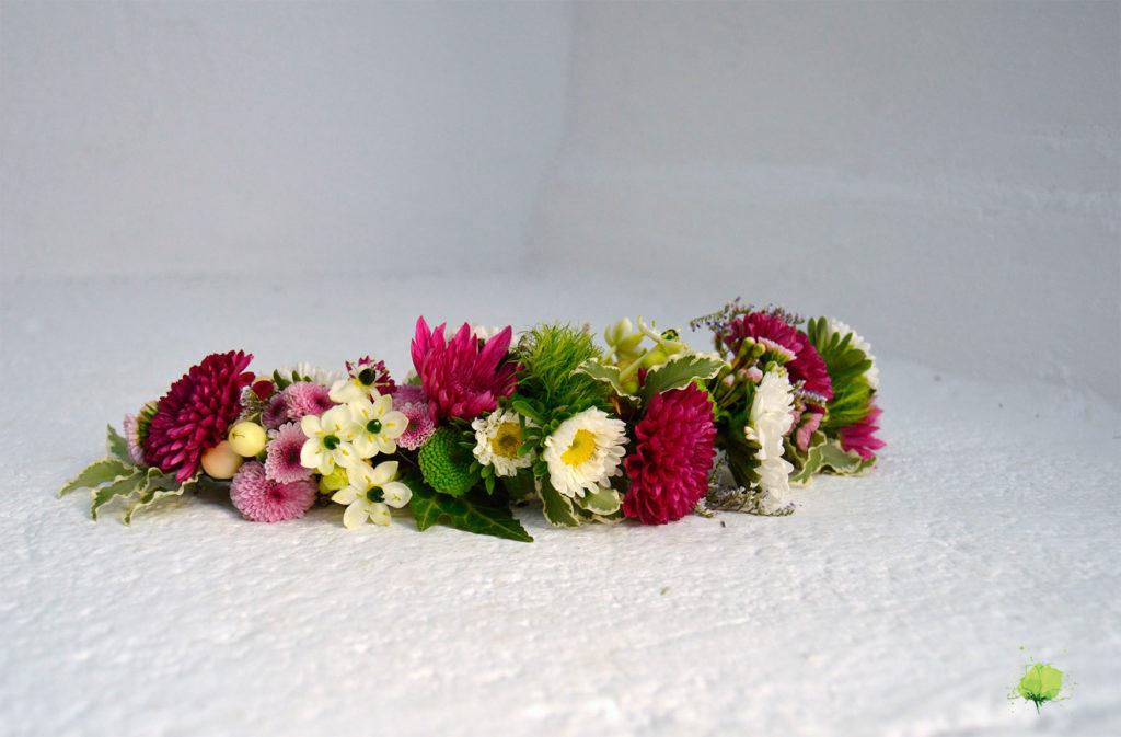 Complementos Florales Semicorona - Blumenaria Taller Floral