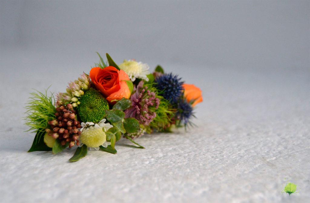 Complemento Floral Tocado - Blumenaria Taller Floral