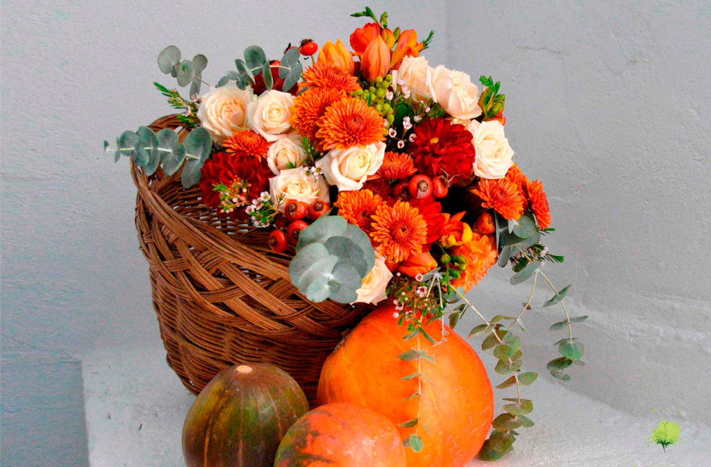 Composición Floral Otoño - Blumenaria Taller Floral
