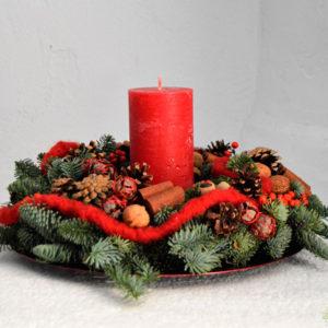 Corona de Navidad - Blumenaria Taller Floral