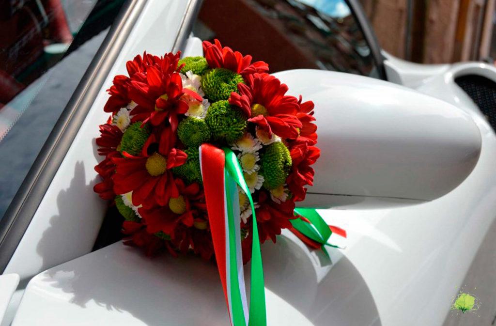 Decoración Coche - Bodas Blumenaria Taller Floral