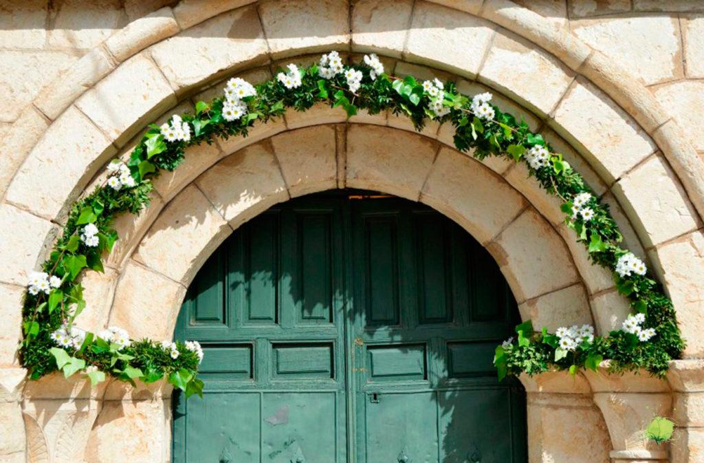 Decoración Iglesia - Bodas Blumenaria Taller Floral