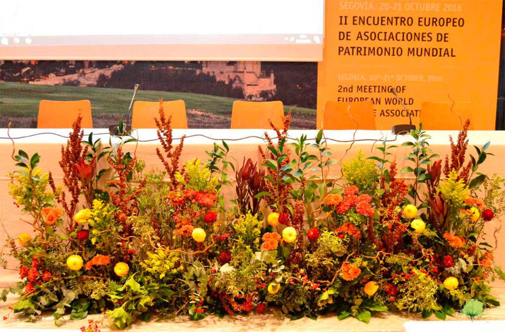 Decoración Ferias y Congresos - Blumenaria Taller Floral