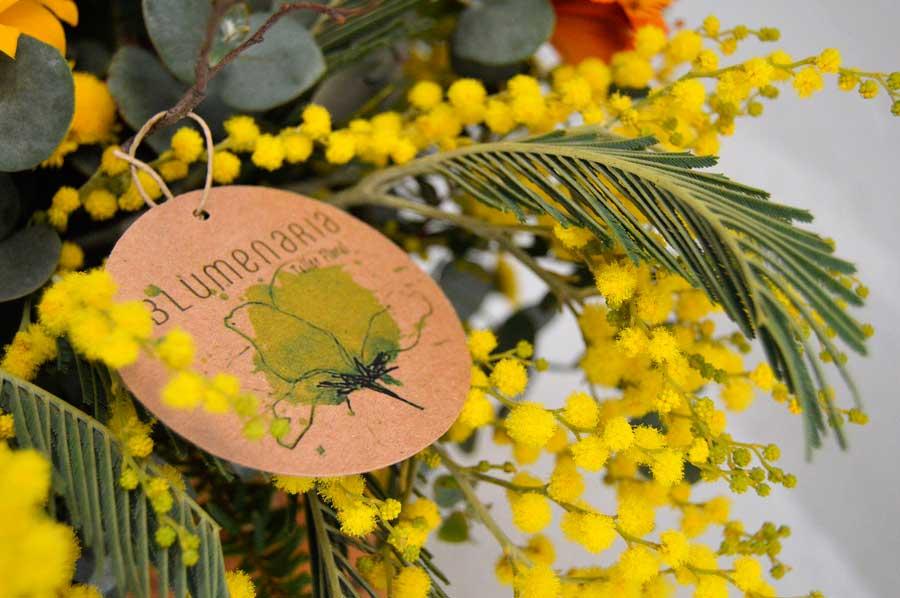 Etiqueta - Blumenaria Taller Floral