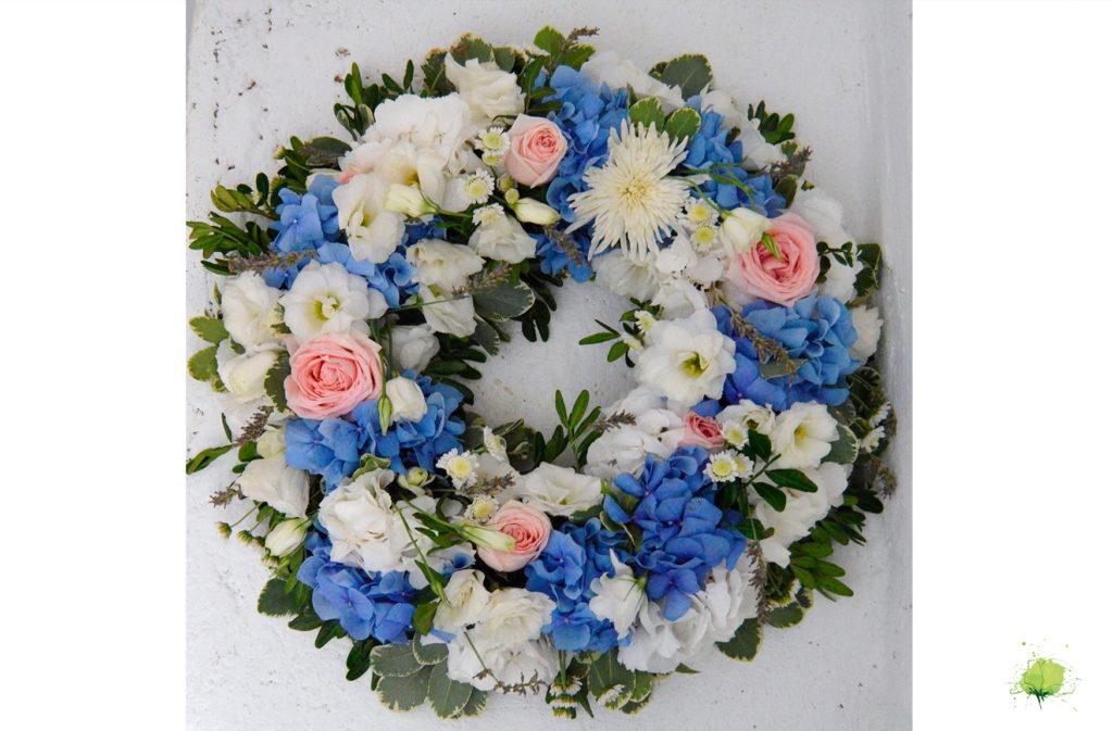 Funerales Corona Flores - Blumenaria Taller Floral
