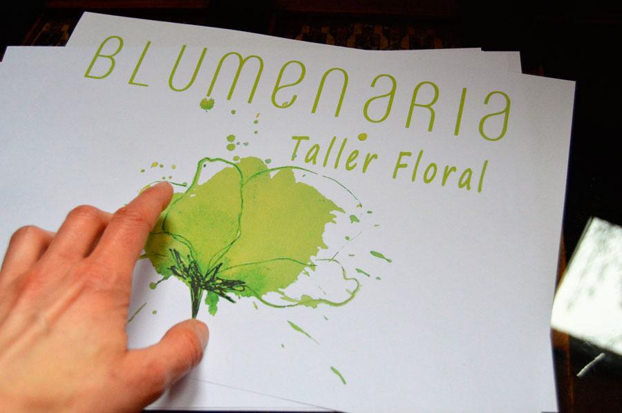 Diseño de Logo - Blumenaria Taller Floral