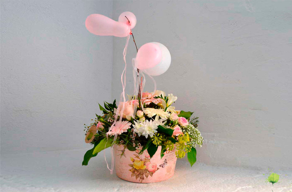 Ramo Flores Nacimiento - Blumenaria Taller Floral