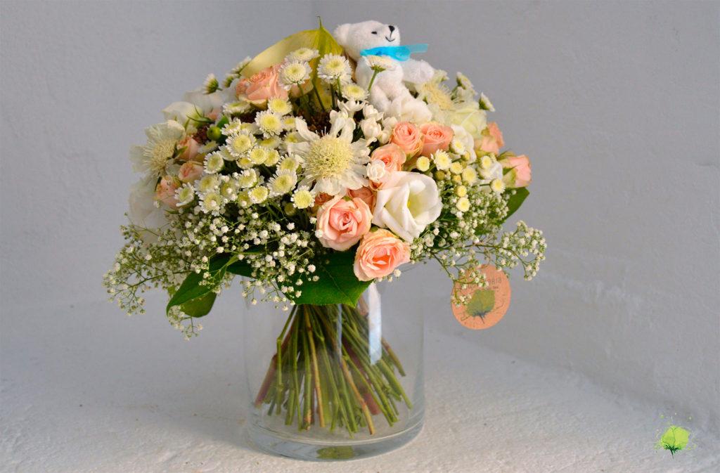 Ramo Flores Nacimientos - Blumenaria Taller Floral