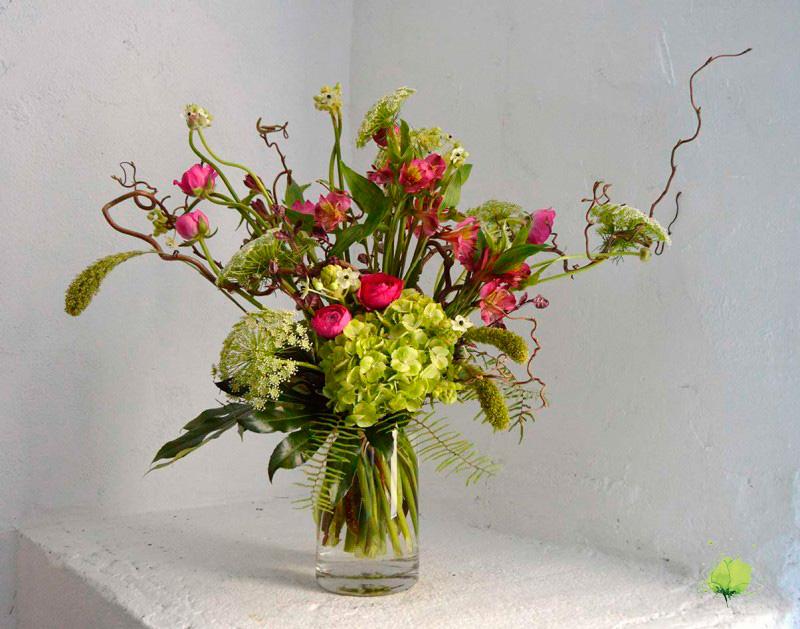 Ramo Flores Natural y Sencillo - Blumenaria Taller Floral