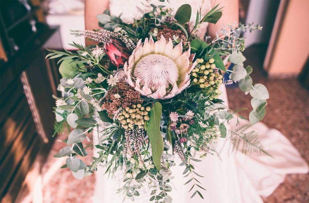 Ramo de Novia - Taller Floral Blumenaria