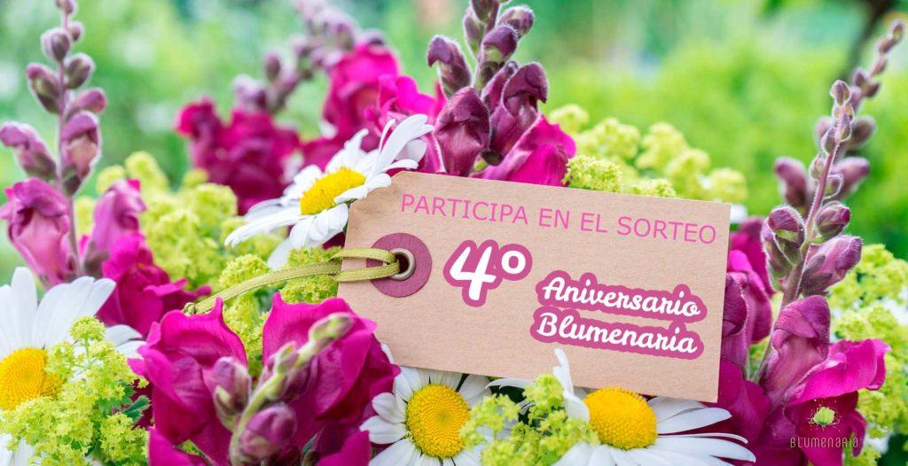 Sorteo 4º Aniversario Blumenaria