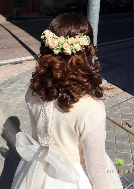 Tocado Cayetana - Blumenaria Taller Floral